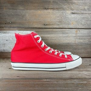 Converse All Star Red High Top Sneakers
